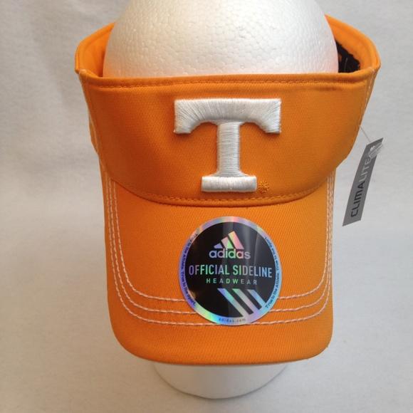8cf653ae720ff Adidas University of Tennessee Climalite Sun Visor